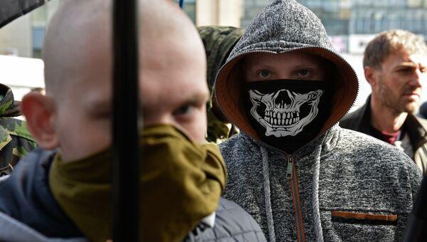 Радикалы на Украине. Архивное фото