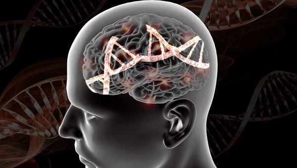 Так художник представляет себе изменения в геноме при наличии психических болезней