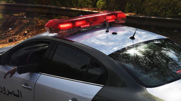 Автомобиль полиции Туниса