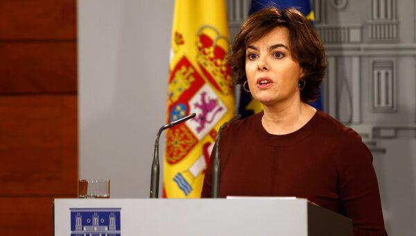 Сорайя Саэнс де Сантамария. Архивное фото