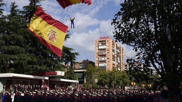 Военный парад в Барселоне. Архивное фото