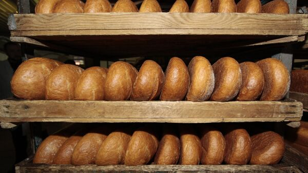 Готовая хлебобулочная продукция. Архивное фото