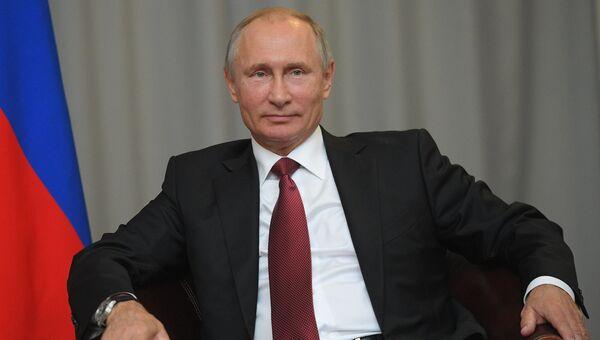 Президент РФ Владимир Путин. 11 октября 2017