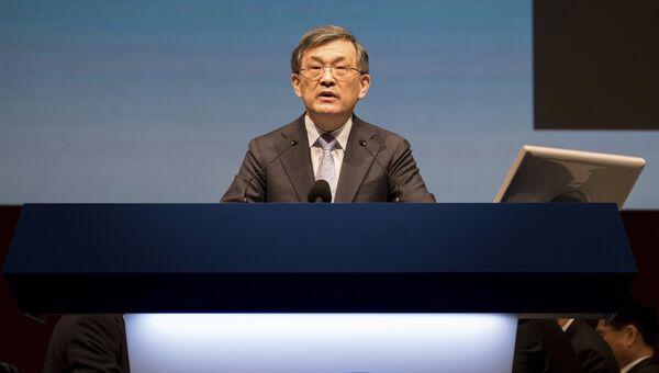 Вице-председатель совета директоров и глава Samsung Electronics Квон О Хюн. Архивное фото