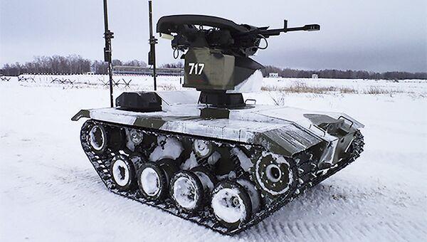 Боевой робот Нерехта. Архивное фото