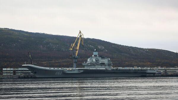 Тяжелый авианесущий крейсер (ТАВКР) Адмирал Флота Советского Союза Кузнецов