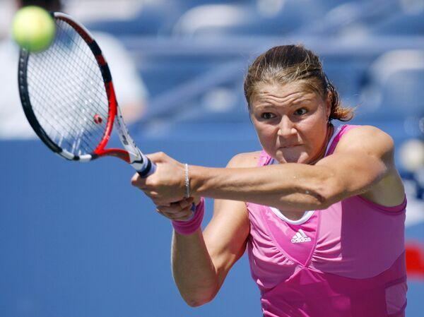 Динара Сафина стартовала с победы на Открытом чемпионате США по теннису