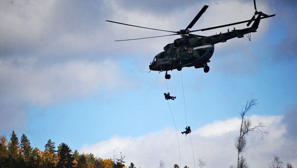 Военнослужащие на тактико-специальных учениях Рельеф-2017 в Забайкальском крае