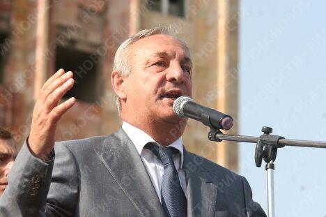 Глава республики Абхазия Сергей Багапш