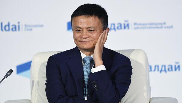 Председатель совета директоров компании Алибаба Груп Джек Ма. Архивное фото