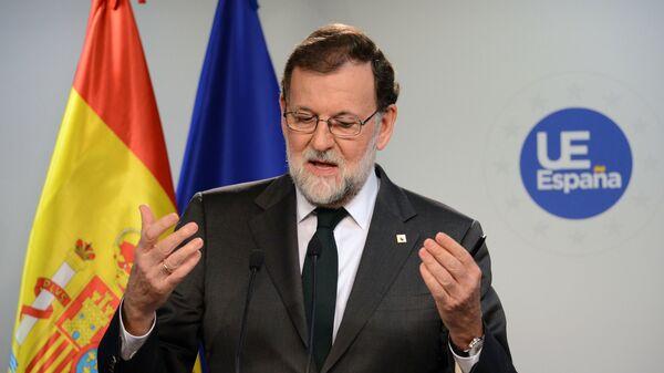Экс-премьер Испании Мариано Рахой Брей