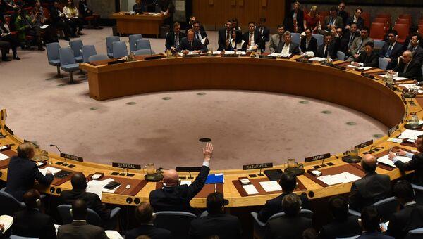 Россия заблокировала в Совете Безопасности ООН проект резолюции о продлении мандата миссии ООН и ОЗХО по расследованию химических атак в Сирии. 24 октября 2017