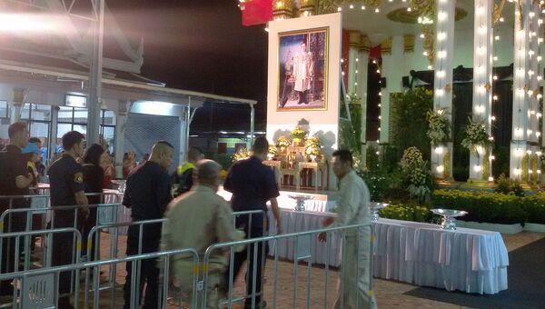 Церемония прощания с королем Таиланда Пхумипоном Адулъядетом, Рамой IX. 26 октября 2017