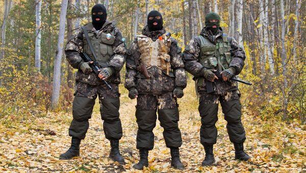 Оперативная группа Баргузин во время патрулирования