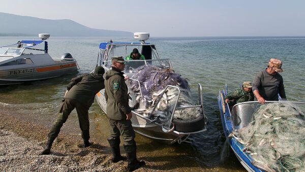 Рейд  оперативной группы Баргузин, в ходе которого было изъято более двух километров сетей