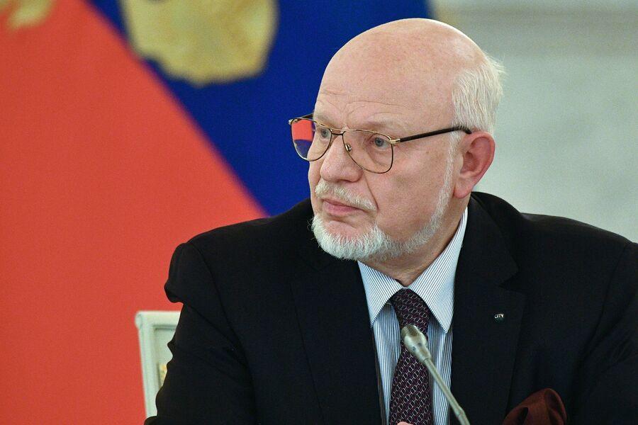 Председатель СПЧ Михаил Федотов на заседании совета. 30 октября 2017