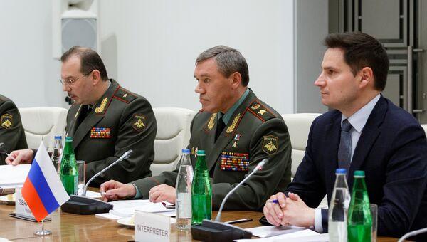 Начальник Генштаба Вооруженных сил РФ, генерал армии Валерий Герасимов. Архивное фото