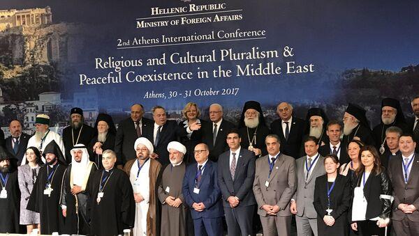 Конференция по религиозному и культурному плюрализму в Афинах. 31 октября 2017