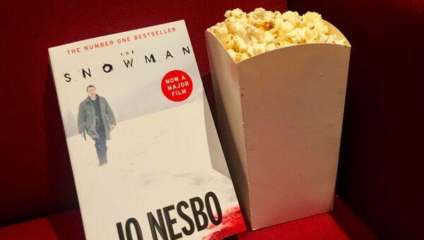 Книга норвежского писателя Ю Несбе Снеговик