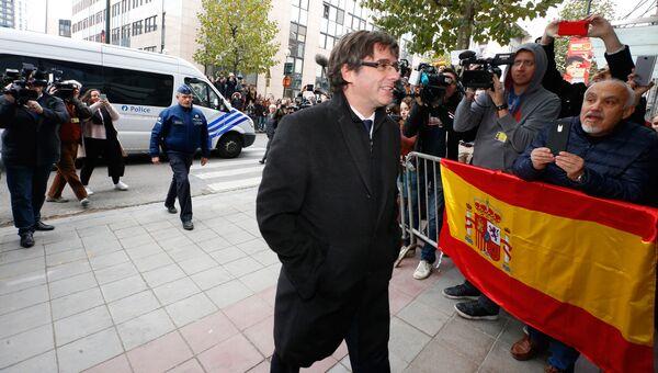 Бывший глава женералитета Каталонии Карлес Пучдемон, архивное фото