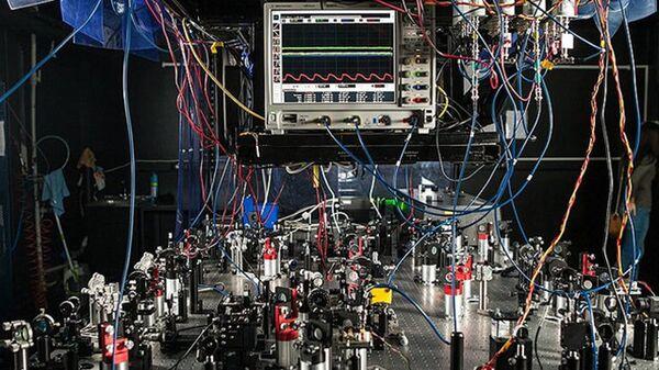 Лаборатория квантовой оптики в Российском Квантовом Центре