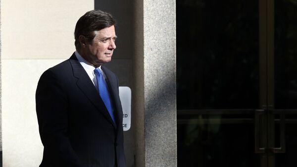 Экс-глава предвыборного штаба Трампа Пол Манафорт