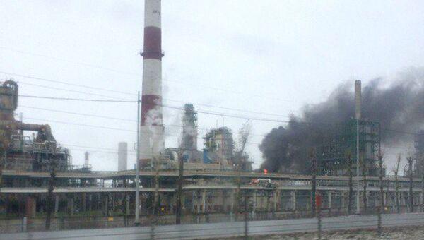 Пожар на Ярославском нефтеперерабатывающем заводе. 1 ноября 2017