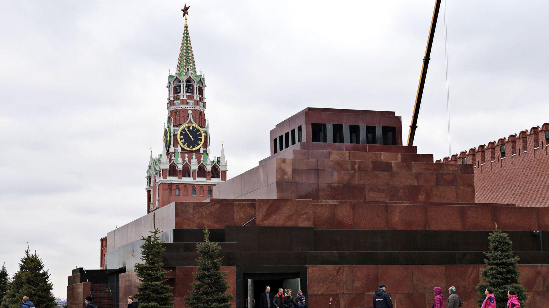 Мавзолей В.И. Ленина - РИА Новости, 1920, 14.09.2020
