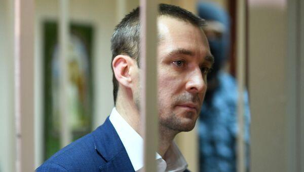 Дмитрий Захарченко в Пресненском суде города Москвы. Архивное фото