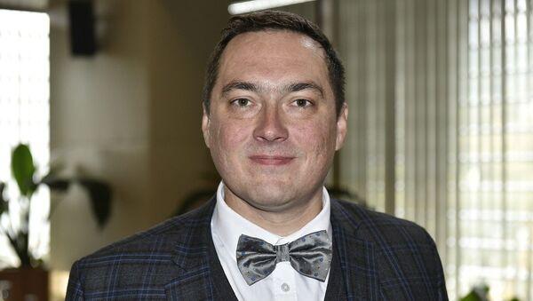 Директор научно-методического центра виноградарства и виноделия Лаборатория вина Дмитрий Ковалев. 4 ноября 2017