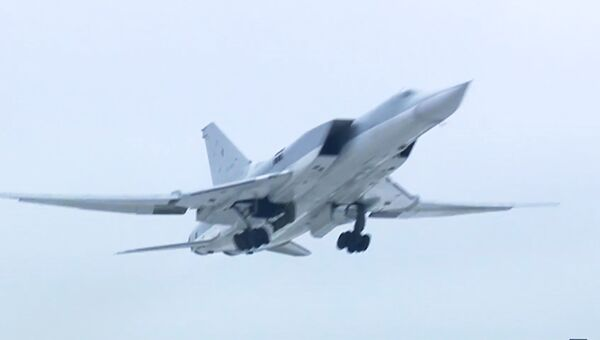 Дальний бомбардировщик Ту-22М3. Архивное фото