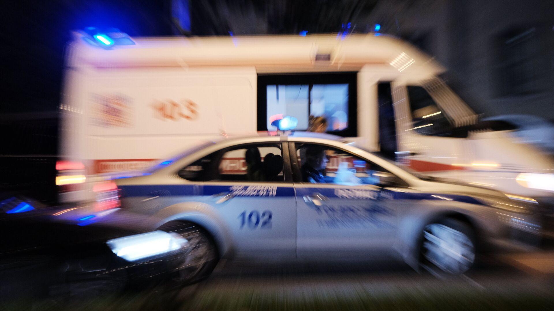 В Москве в Лефортовском тоннеле произошло ДТП с тремя пострадавшими