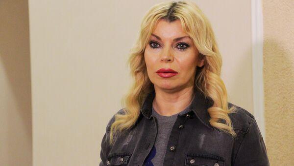 Российская певица Лада Дэнс на концерте в честь Дня народного единства в Луганске 5 ноября 2017 года.