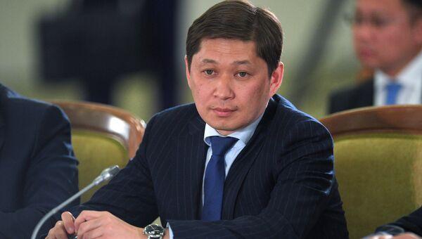 Премьер-министр Киргизии Сапар Исаков. Архивное фото