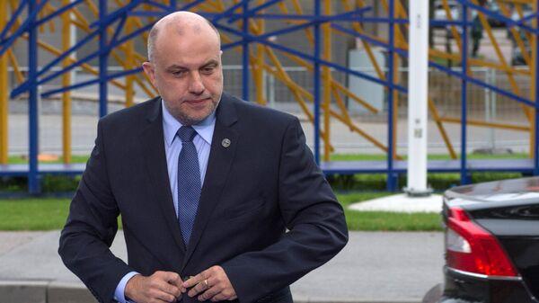Министр обороны Эстонии Юри Луйк. Архивное фото