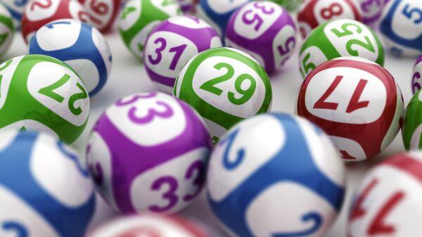 Лотерейные шары. Архивное фото