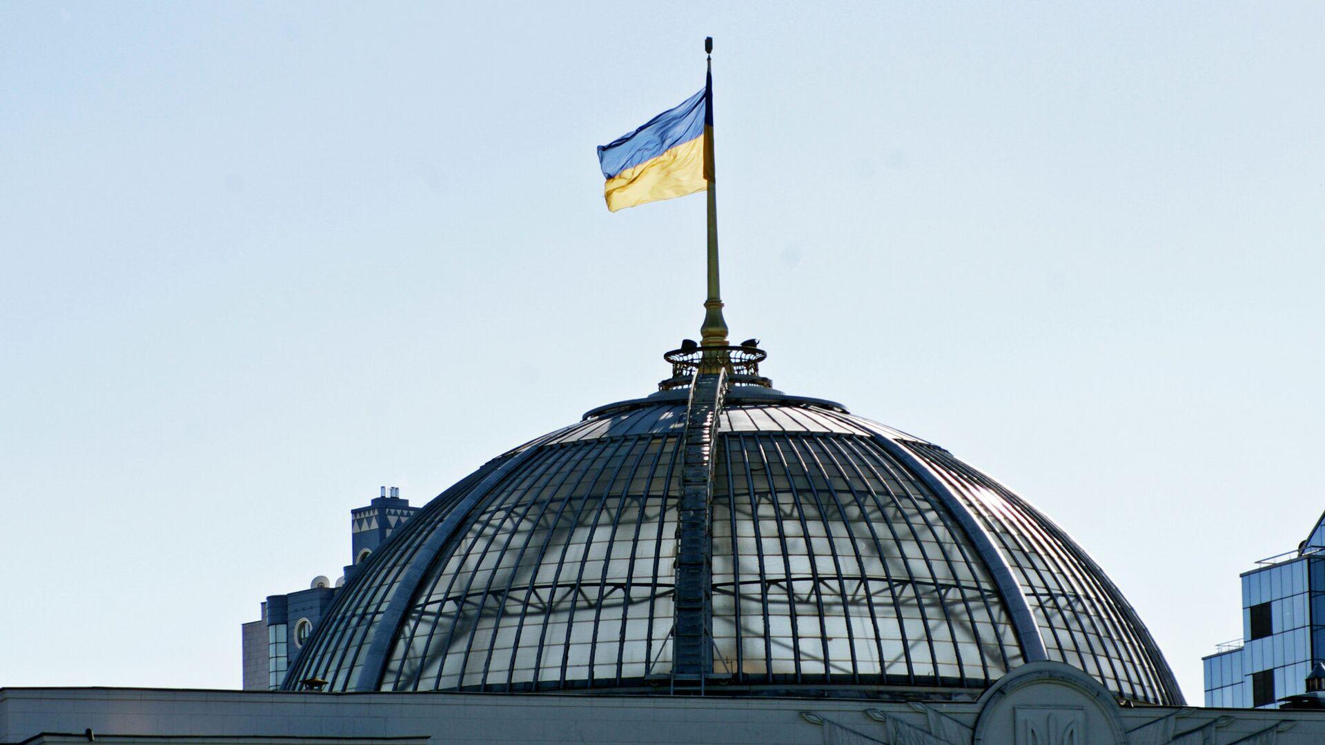Здание Верховной Рады Украины - РИА Новости, 1920, 26.09.2020