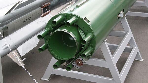 Подводная ракета Шквал (вид сзади)
