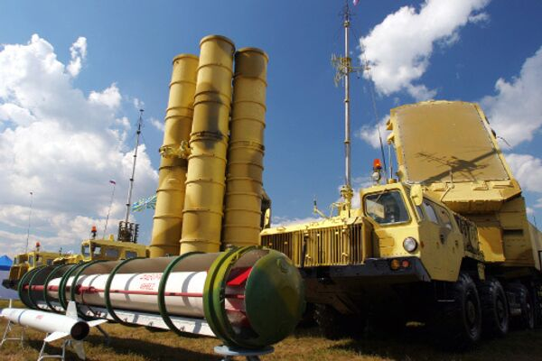 Зенитная ракетная система С-300. Архив