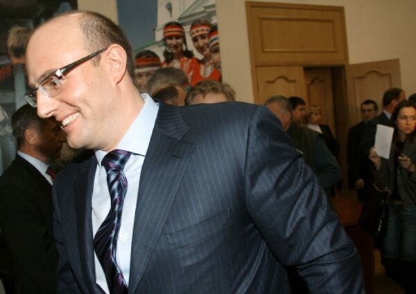 Дмитрий Чернышенко, глава Оргкомитета Сочи-2014