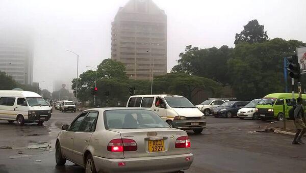 Обстановка в столице Зимбабве Хараре. 15 ноября 2017