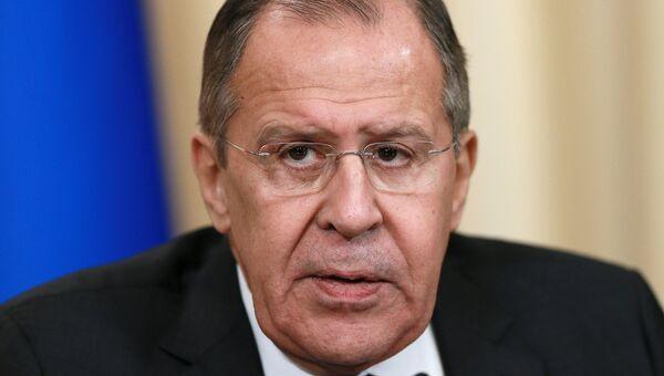 Министр иностранных дел РФ Сергей Лавров. 15 ноября 2017