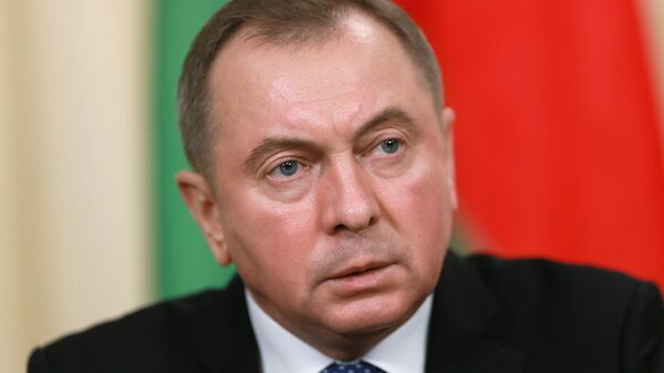 Министр иностранных дел Белоруссии Владимир Макей