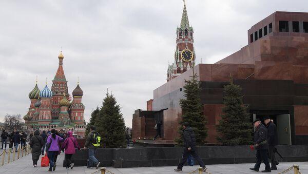 Мавзолей В.И. Ленина на Красной площади