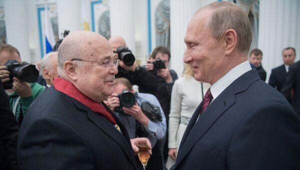 Владимир Путин и Александр Калягин. Архивное фото