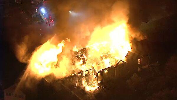 Пожар в доме престарелых Barclay Friends в штате Пенсильвания, США. 16 ноября 2017