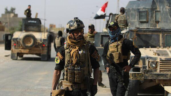 Иракские военные в провинции Анбар в районе ирако-сирийской границы. Архивное фото