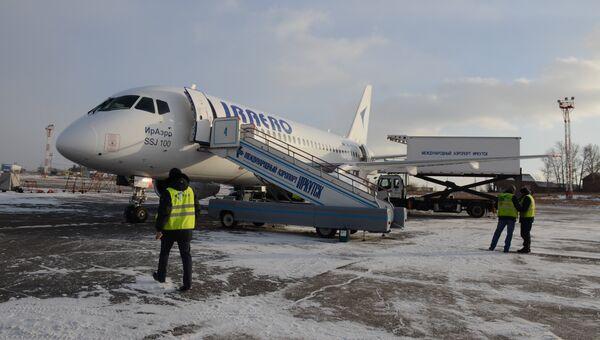 Самолет авиакомпании ИрАэро. Архивное фото