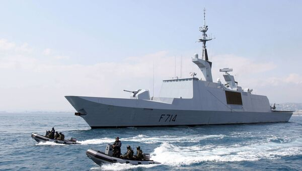 Фрегат ВМС Франции La Guepratte
