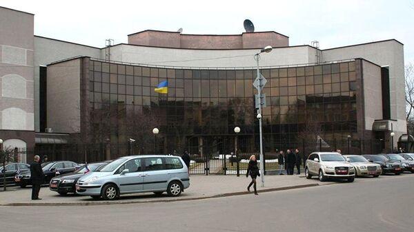 Здание посольства Украины в Минске. Архивное фото